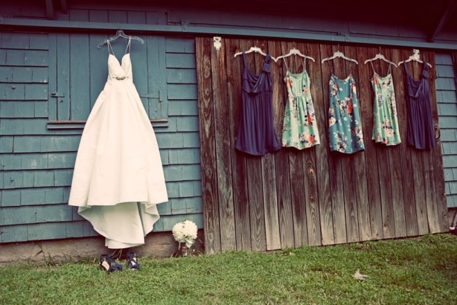 Dresses on the Barn