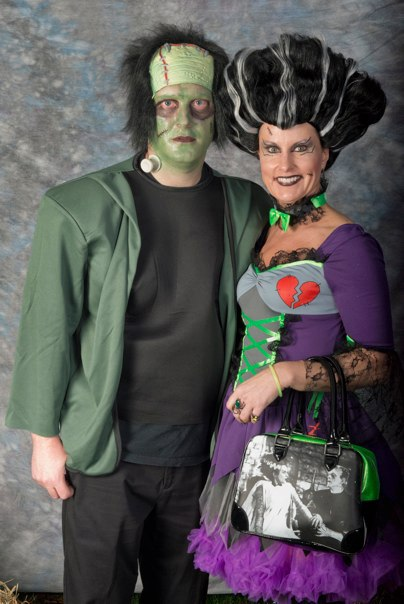 Halloween Frankenstien and Bride of