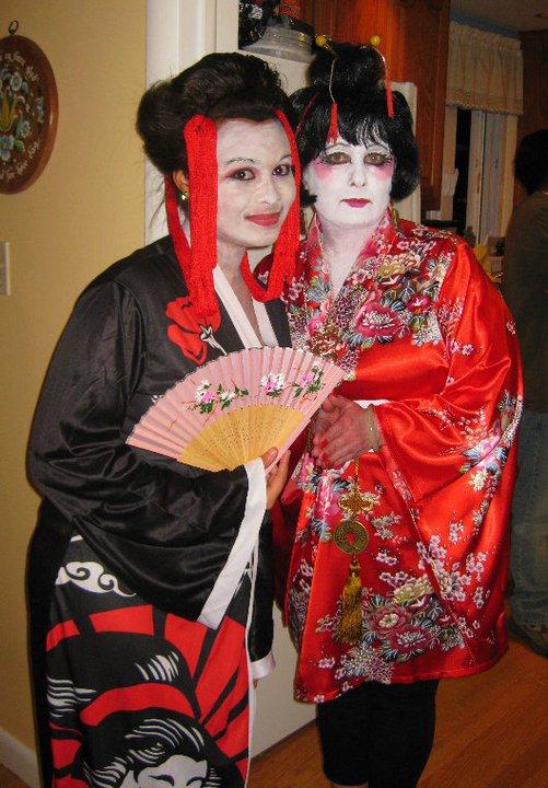 Halloween Geisha Girls