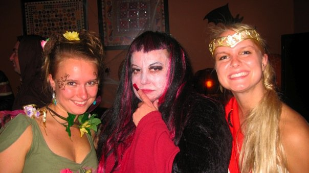 halloween me as a witch with girls