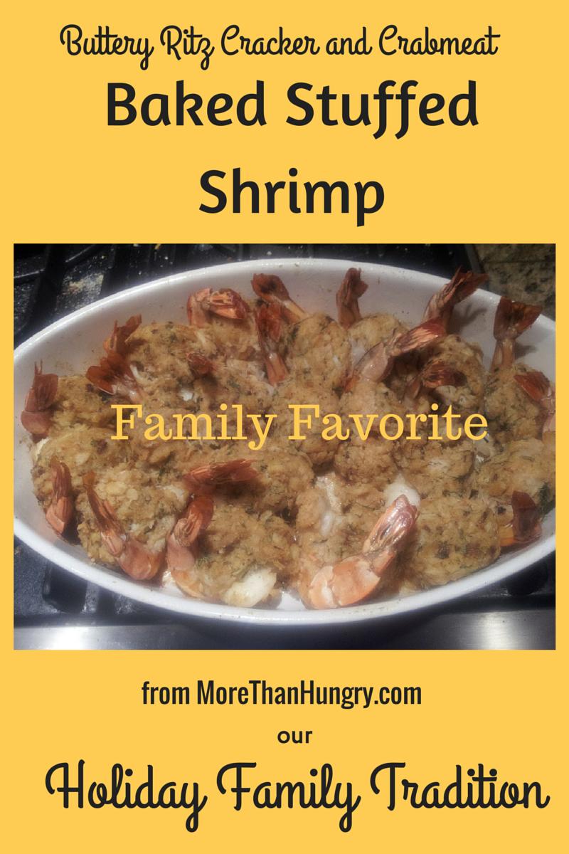 Family Favorite Baked Stuffed Shrimp
