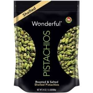 pistachios shelled wonderful bag