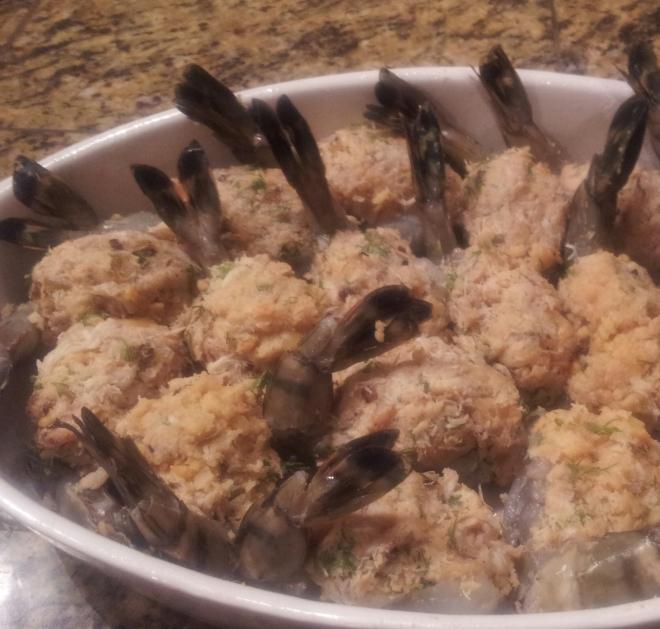 Shrimp Ready for Baking