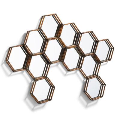 honeycomb mirror grandinroad