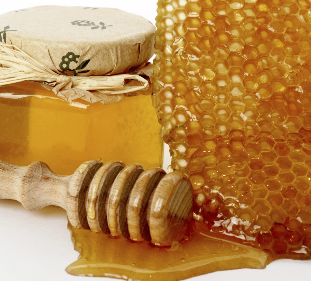 honeycomb raw jar