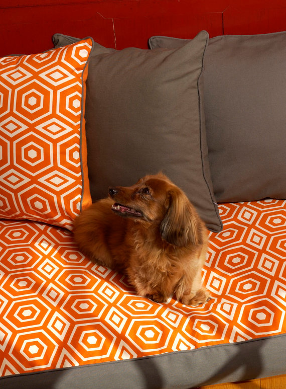 honeycomb dog bed
