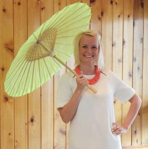 Shower Britt with umbrella cropped