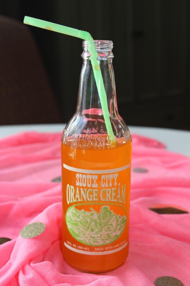Shower Orange Soda