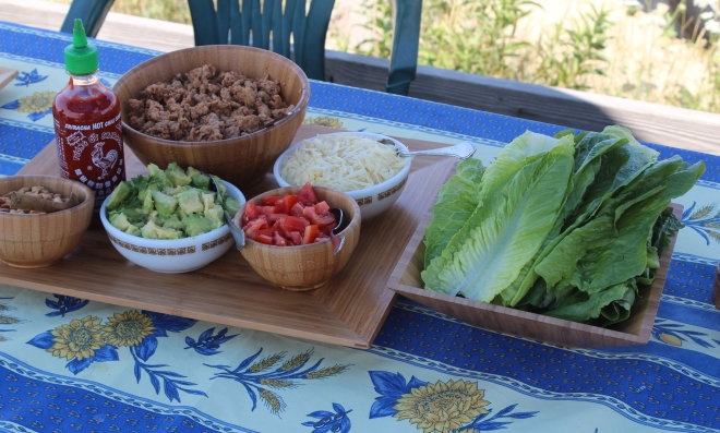 Ladies Week Eating Alfresco Turkey Lettuce Wraps 2