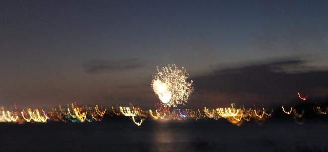 Summer Peaks Island Fireworks