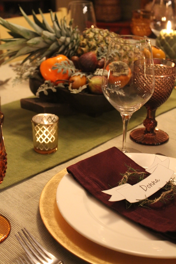 My Thanksgiving Table and a Peek Around the House