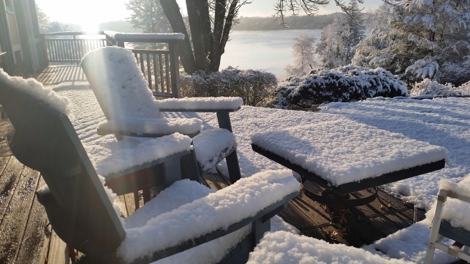 Snow on the Deck Nov 14