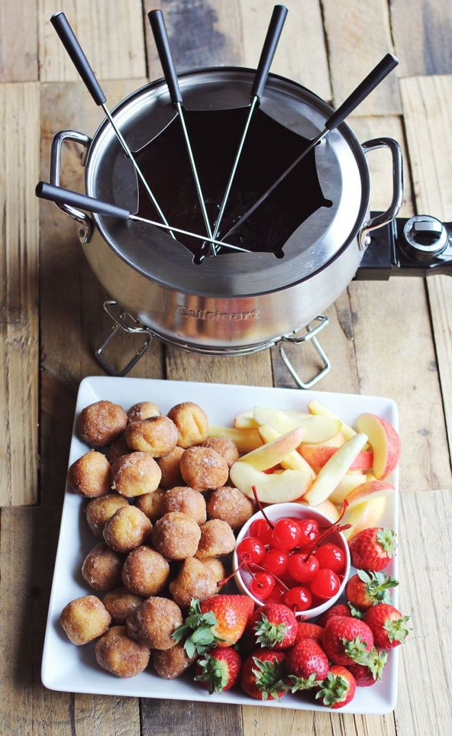 chocolate cherry fondue