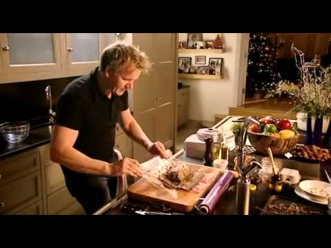 Gordan Ramsay making beef wellington