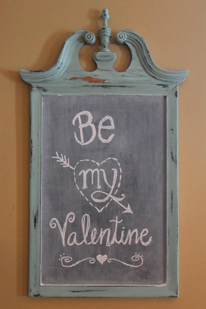 Valentines Dinner 5 Chalkboard